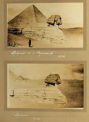 Sphinx and Pyramid 1916