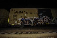 Strike (Revise_D) Tags: railroad graffiti trains revise strike graff tagging freight revised trainart fr8 bsgk benching fr8heaven fr8aholics revisedesigns revisedesign fr8bench benchingsteelgiants