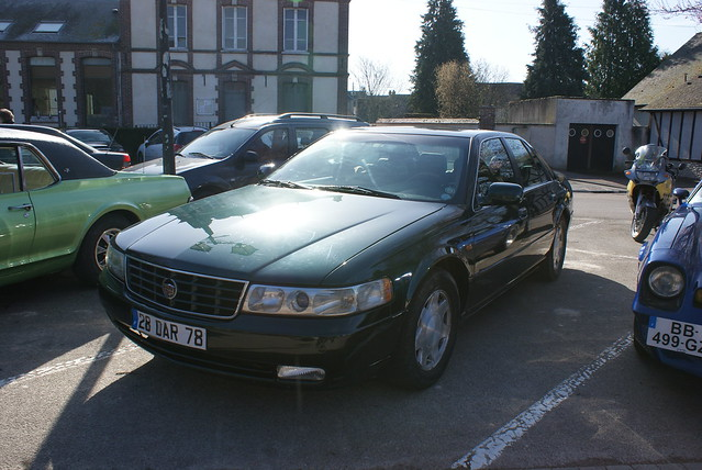 2000 cadillac séville sts