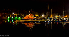 Stornoway Inner Harbour (Impact Imagz) Tags: longexposure nightphotography marina reflections boats harbour isleoflewis innerharbour rnli stornoway searescue stornowayharbour stornowaylifeboat