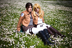 Ymir x Christa from Shingeki no Kiojin (Lexandeer) Tags: girls cosplay no attack best titan christa ever historia ymir shingeki kiojin