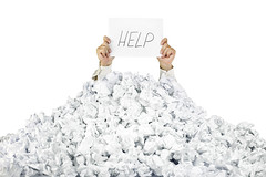 Person under crumpled pile of papers with a help sign / isolated (paperfreeweb) Tags: white money male businessman work paper person hope office trapped garbage holding support chaos hand arms arm reaching buried background failure palm stack business help aid human pile blank document reach sos frustration damaged stress success problems heap investment isolated assistance helping raised bureaucracy finance paperwork crumpled adversity hopelessness