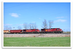 Double, Eh? (bogray) Tags: railroad train lexington ky locomotive canadianpacific ge norfolksouthern ac44cw dieselelectric drf44 cp8631 cpbishop