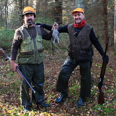 """Caza Becada / Hunting Woodcock • <a style=""""font-size:0.8em;"""" href=""""https://www.flickr.com/photos/61427906@N06/13853603773/"""" target=""""_blank"""">View on Flickr</a>"""