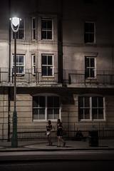 Party Crowd (dawolf-) Tags: street uk windows girls light party house man beach lamp dark walking brighton sitting shadows homeless