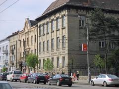 Cluj-Napoca - Faculty of Letters (UBB) on Horea street (Bogdan Pop 7) Tags: architecture spring romania transylvania transilvania cluj clujnapoca erdly erdely koloszvar kolozsvr ardeal siebenbrgen romnia arhitectura klausenburg arhitectur