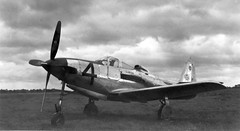 Bell P-36C (San Diego Air & Space Museum Archives) Tags: bell aircraft airraces nationalairraces p63 bellkingcobra charlesdaniels