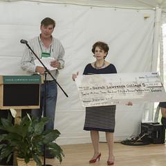 2015.06.05 Citation Awards QN-043 (SLCAlumni Office) Tags: usa ny reunion lunch award event bronxville petervandijk alumniassociation bigcheck reunionalumnicitation citationawardsluncheon