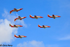 Patrulla guila (cjp_1954) Tags: casa aircraft airshow fairford riat patrullaguila c101 spanishairforce