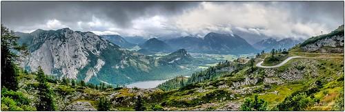Panoramablick von der Loser Hütte