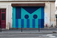 un gros chat (lepublicnme) Tags: france paris february 2017 graffiti shutter poulain
