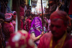 Gopi (Harshal Orawala) Tags: india 121clicks colours holi2k17 holi2017 holi harshalorawala lights barsana festival