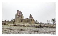 Château de Fourchaud (JG Photographies) Tags: europe france french auvergne allier besson paysage châteaudefourchaud neige hiver jgphotographies canon7dmarkii