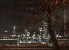 shell copy (Jolanda N.) Tags: botlek industrie nachtfoto nightphotography