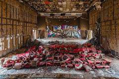 Show must go on! (marconielinger) Tags: nikond5300 tokina1224 lostplace abandoned verlassen