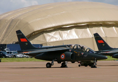 E101 Dassault-Breguet Dornier Alphajet E, French Air Force, RAF Fairford 14 July 2007