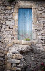 Little blue door (cycomaniacs) Tags: door france flower fleur porte cycomaniacs