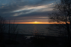 Calumet Waterworks Park, Earlier (schandle) Tags: sunset michigan lakesuperior calumet waterworkspark