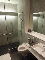 Shower room, ANA Lounge, Narita International Airport