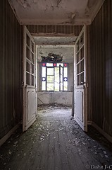 let the light in (ZerberuZ1) Tags: windows urban abandoned nikon doors decay corridor exploration tamron derelict decayed vanguard ue urbex d7000