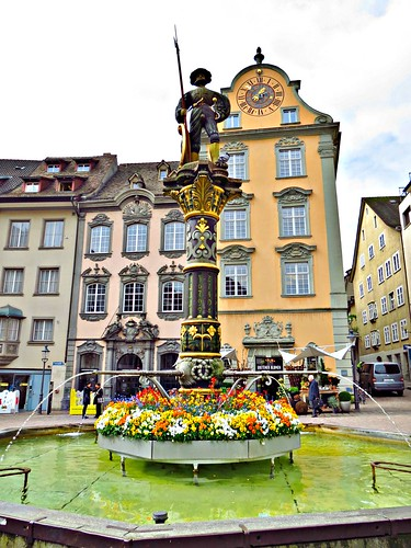 Metzgerbrunnen Fountain, Schaffhausen, Switzerland