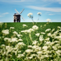 Chesterton Windmill (Andrew Lockie) Tags: england green english windmill rural square energy village power wind traditional culture conservation environmental landmark chesterton warwickshire alternative leamingtonspa renewable harbury