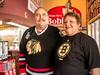 MarriedCoupleHell-20130622-1 (Frank Kloskowski) Tags: hockey georgia couple restaraunt fans milton bostonbruins chicagopizza chicagoblackhawks