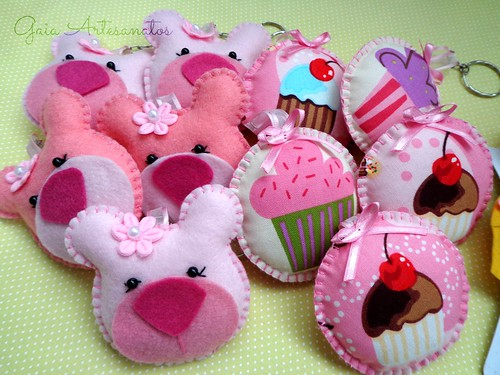 Ursinhas e cupcake
