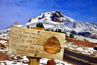 Pacific Crest National Scenic Trail and Mount Hood