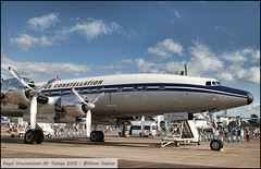 RIAT 2013 - Lockheed Super Constellation (Si 558) Tags: tattoo aviation air royal super airshow lockheed raf constellation fairford riat royalinternationalairtattoo riat2013
