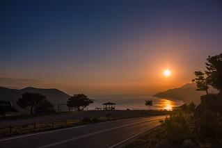 Following the sun...