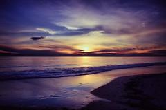 light show (Bec .) Tags: sunset canon landscape adelaide 1855mm southaustralia lightshow henleybeach nd8 450d rbat75