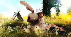 Rabbit & me (・×・) Snapshot_52023 (Larcoco ::C'est la vie!::) Tags: secondlife larcoco
