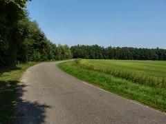 The winding road (joeke pieters) Tags: road holland netherlands landscape nederland achterhoek weg landschap gelderland aalten haart panasonicdmcfz150 1090648