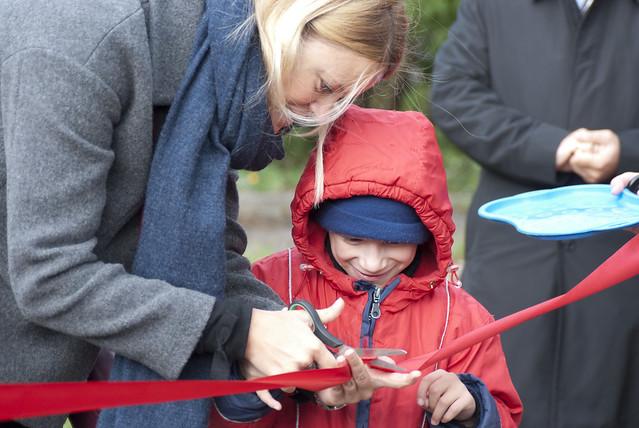 Детская площадка в интернате в Павловске