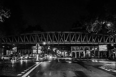 Paris by night (Kevin-G Photography) Tags: street vacation paris beautiful architecture night canon lights blackwhite view atmosphere nights 650d
