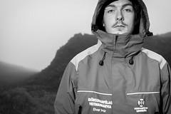 Elvar Þór (Ófeigr Photographer) Tags: summer nature location vestmannaeyjar sumar ísland náttúra skólaverkefni portrett elvar úti þoka lokaverkefni björgunarsveitarmaður