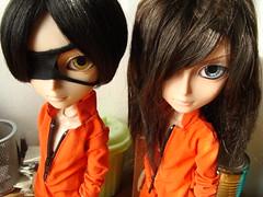 Tatsuha & Arno (Lunalila1) Tags: outfit doll handmade prison groove yaoi arno kain basara taeyang tatsuha motochika segoku chosokabe