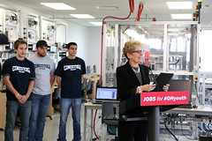 IMG_1734 Conestoga College (Ontario Liberal Caucus) Tags: youth education jobs guelph wynne hoskins conestogacollege milloy