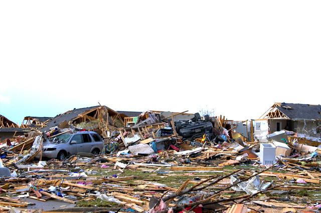 Complete devastation....