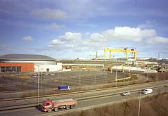 Belfast - Queen's Quay - H and W Cranes