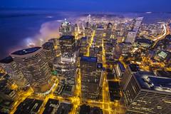 Seattle Sunrise Dreamland (www.mikereidphotography.com) Tags: seattle zeiss15mm