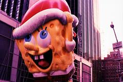 X700_120213_18e (Mark Dalzell) Tags: thanksgiving camera new york city nyc slr film 35mm balloons xpro day fuji cross minolta slide parade velvia macys processed e6 x700 c41 2013