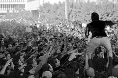 capo (Amr L Attar) Tags: white black university egypt photojournalism anti coup mansoura rab3a portests