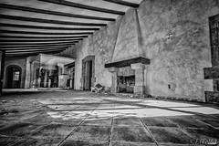 Abandoned restaurant (El Tel63, Photographer & Phantom flyer) Tags: abandoned restaurant blackwhite spain costablanca niksoftware silverefexpro2 eltel63