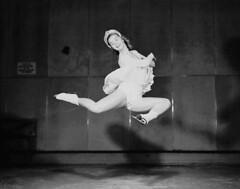 Barbara Ann Scott performing  a stag jump at the Minto Skating Club / Barbara Ann Scott excutant un  saut de biche , club de patinage Minto (BiblioArchives / LibraryArchives) Tags: winter ontario canada sports hiver ottawa lac leisure olympics bac olympiques loisir nationalfilmboardofcanada libraryandarchivescanada photothque bibliothqueetarchivescanada stagjump frankroyal officenationaldufilmducanada sautdebiche december1947 mintoskatingclub clubdepatinageminto barrbaraannscott dcembre1947