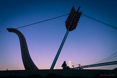 Have you left your heart in San Francisco? #Flickr12Days (julesnene) Tags: sanfrancisco california travel sculpture love baybridge bowandarrow ileftmyheartinsanfrancisco julesnene juliasumangil flickr12days