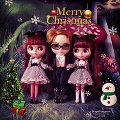 "Happy new year 2014 (aoonjijung) Tags: new momo doll year neoblythe blytheboy ultimatetourblythe cwclimitededitionneoblythe""ultimatetour""collaborationwithmomolitawithcarandvespamodel16andmiddieblythe"