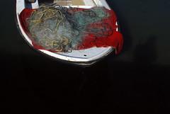 boat in red (placeinsun) Tags: red water boats harbor croatia split myshadow kastela