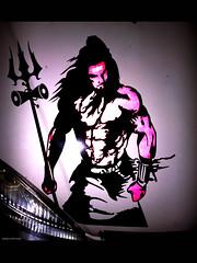 hara hara mahadev (mohan mukesh) Tags: sticker tata indigo cutting shiva shankara sringeri bholenath aldur malenadu